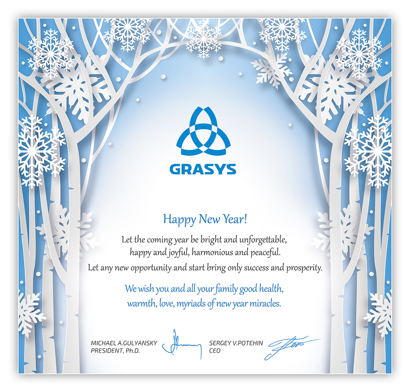 Merry Christmas and a Happy New Year from Grasys