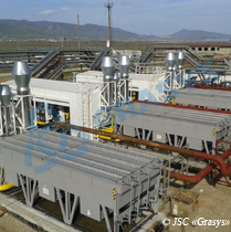 APG treatment for delivery to the PJSC Gazprom gas transmission system