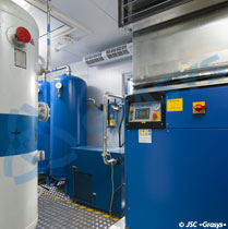 Serial adsorption oxygen stations AKC-15