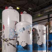Serial adsorption oxygen stations AKCB for cylinders filling