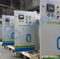 Medical oxygen concentrators OXYPOWER