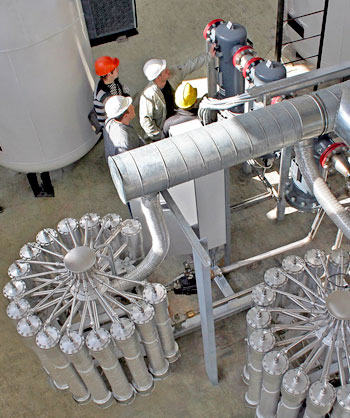 GRASYS performed nitrogen station scheduled maintenance for OJSC Gazprom