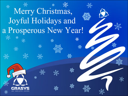 Best wishes for 2012 from GRASYS!